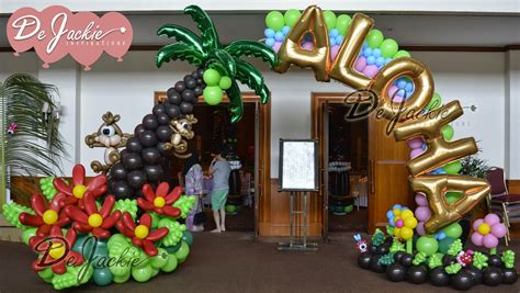 Aloha Decorations by Balloon Decorations For Weddings Birthday