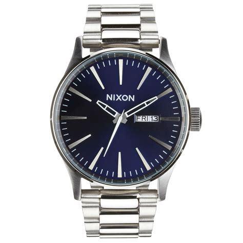 nixon sentry ss blue sunray free uk delivery on