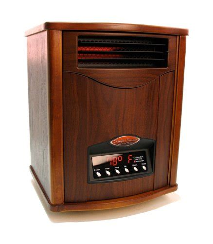 comfort furnace infrared heater tuscan walnut comfort furnace infrared heater uv air