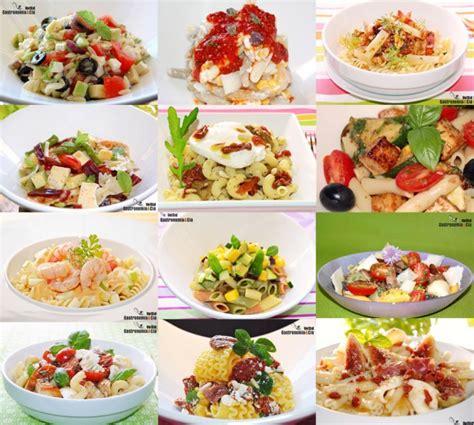 como se cocina la pasta doce recetas de ensalada de pasta gastronom 237 a c 237 a