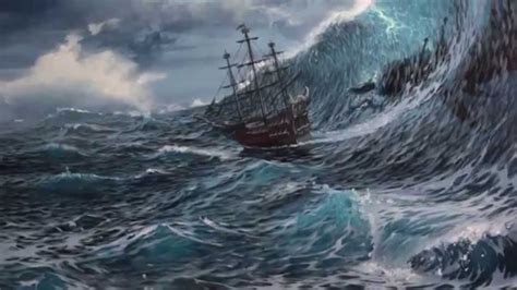 boat crashing drawing list of synonyms and antonyms of the word stormy