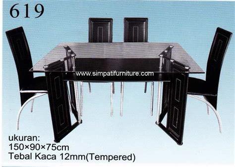 Meja Makan Kaca Import meja makan
