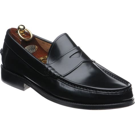 loake loafers sale loake shoes loake sale kingston loafer in black
