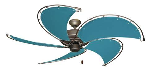 raindance nautical ceiling fan 52 inch raindance nautical ceiling fan turquoise canvas