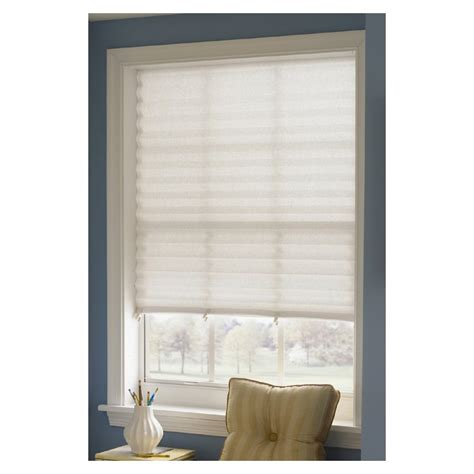 Paper Lshades - redi shade light filtering cordless paper pleated shade
