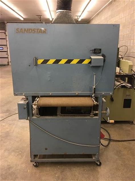 sandstar 24 quot wide belt sander for sale woodworking