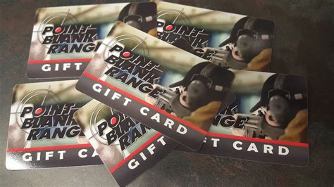 The Range Gift Card - gift cards point blank range