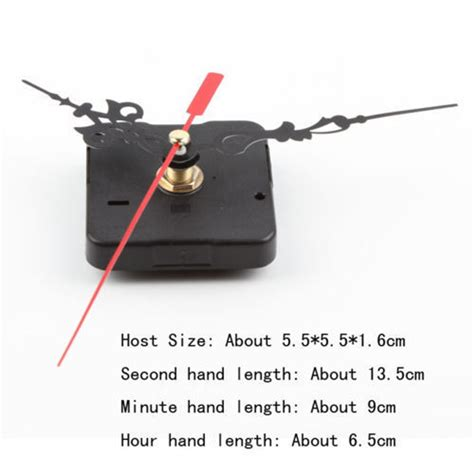 Diy Clock Mechanism Quartz Repair Replacement Sparepart diy quartz clock movement mechanism repair tool parts kit set ebay