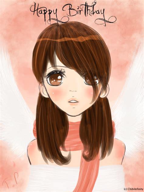 anime semi semi realistic anime bday present by chibiinfinity on