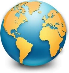 global earth world map free icon in format for free