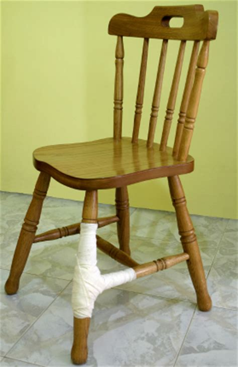 Wooden Furniture Repair by How To Repair Or Broken Chair Parts How To Repair