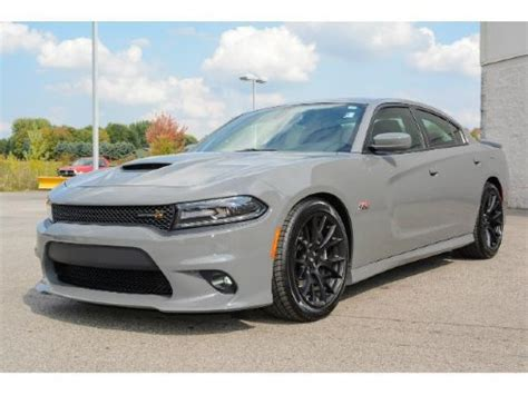 2018 dodge charger scat pack destroyer gray | go4carz.com