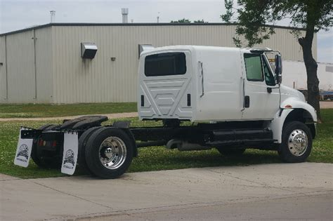 With Sleeper Cab by Prairie Tech Custom Day Cab Conversions