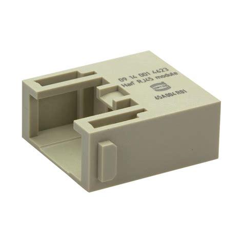 Connecteur Rj45 2513 connecteur m 226 le 224 visser harting 09140014623 h