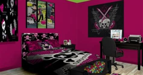 punk bedroom decor perform proper punk patrol with loud and clear decor see