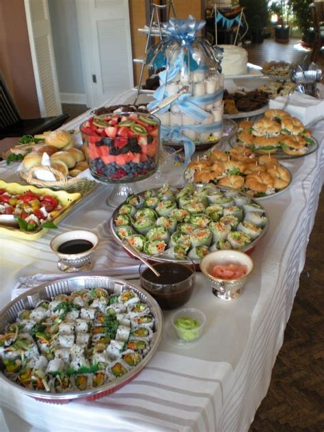 baby shower tea food baby shower food inspiration and drafts baby