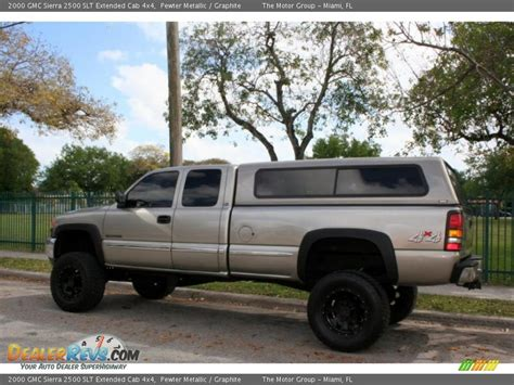2000 gmc 2500 extended cab 4x4 2000 gmc 2500 slt extended cab 4x4 pewter metallic