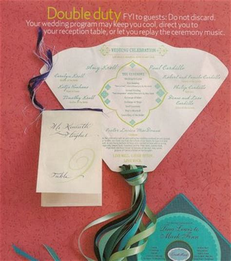 fan invitation template wedding ceremony program fan template weddingbee