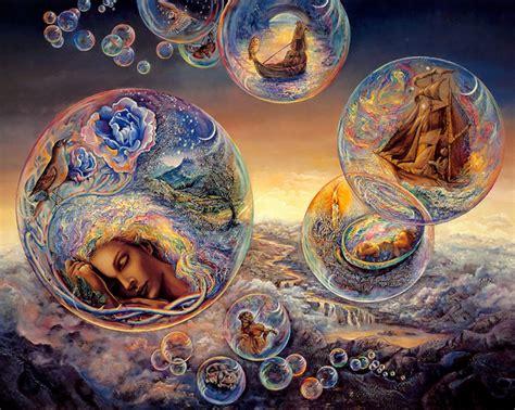 paint dream lucid dreams merging fantasy and reality awaken