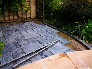 Slate Patio Slate Patio Plews Garden Design