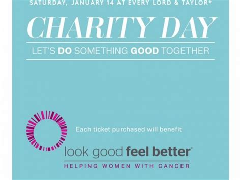 Lord And Garden City Hours by Lord Garden City Participating In Charity Day Of 2017 Benefiting Look Feel