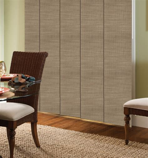 Sliding Panel Blinds Comfortex Envision Panel Blinds M Screen Deco Texture 5