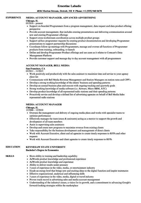 social media sample resume image gallery of social media manager