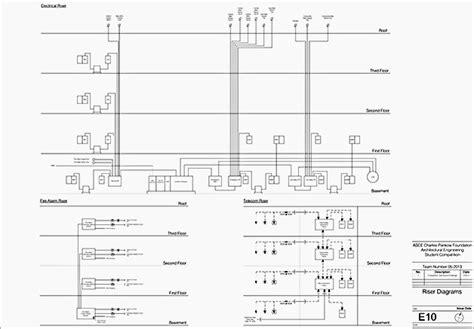 riser diagram electrical riser diagrams images
