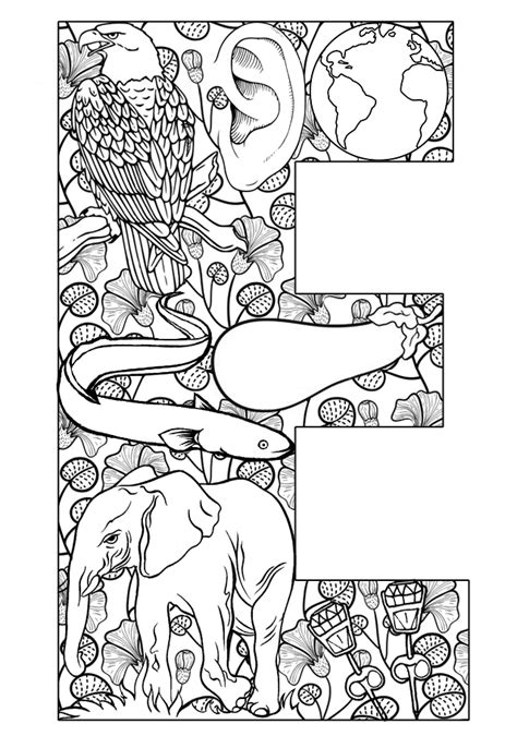 coloring pages for adults letter t free coloring pages of things that start with b