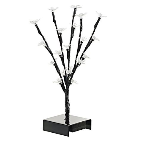 fake tree home decor ideas in life 12 inch led cherry blossom tree lighted