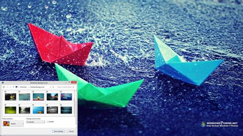 themes for windows 7 rain rain windows 7 theme download