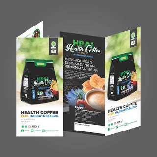 Hpai Coffee brosur produk health coffee hpai support system