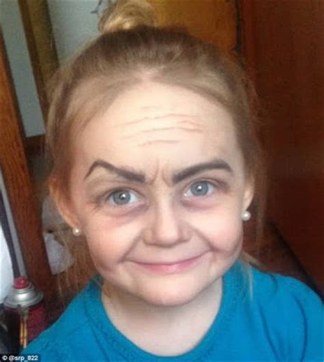 pictures of 9 year old girls makeup unbelievable see what makeup did to a 3 year old girl