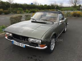 ventes auto peugeot 504 cabriolet 1978 les annonces