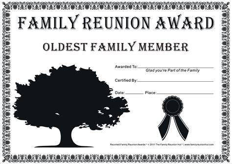 printable family reunion quotes reunion activities family reunion certificates hope