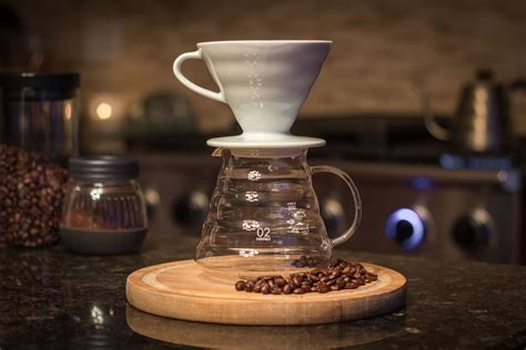 V60 Coffee pour coffee maker in various types for the best
