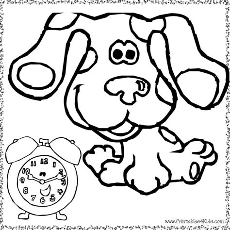 blues music coloring pages pin blues clues coloring pages 9 on pinterest