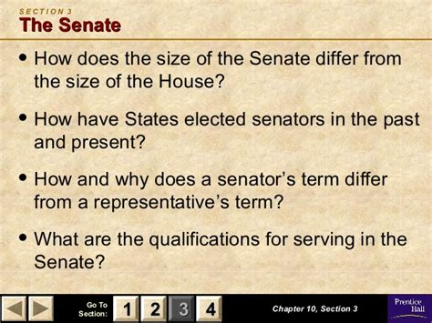 chapter 10 section 2 the house of representatives chapter 10
