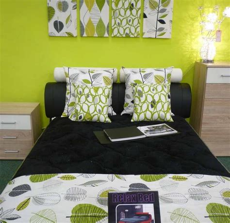 lime green bedrooms ideas  pinterest
