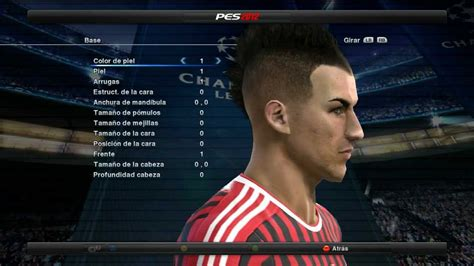 hair style el sharawy pes 6 pes 2012 el shaarawy new face youtube