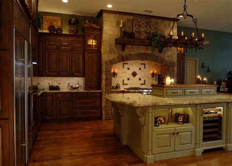 castle kitchen cabinets this old world kitchens looks like it s straight out of a