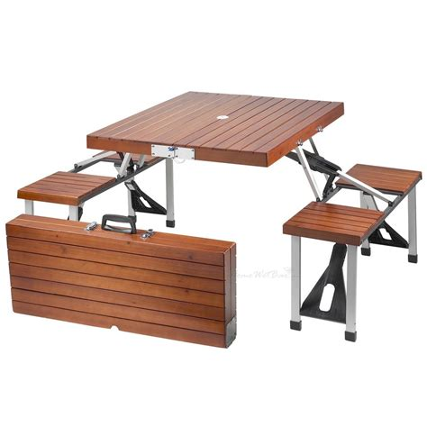 folding picnic bench table folding picnic table oh my that s awesome