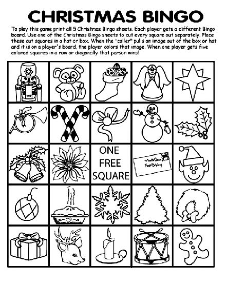 christmas coloring pages by crayola christmas bingo sheets printable search results