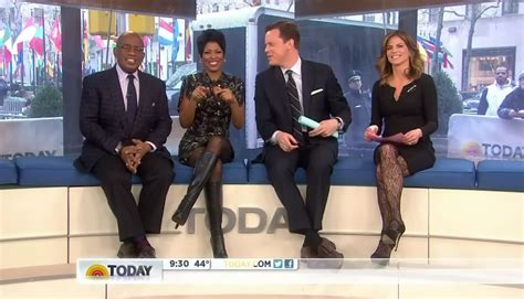 tamron hall thigh high boots the appreciation of booted news women blog tamron hall