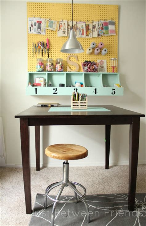 Pegboard Craft Room 10 Awesome Pegboard Projects Organize And Decorate
