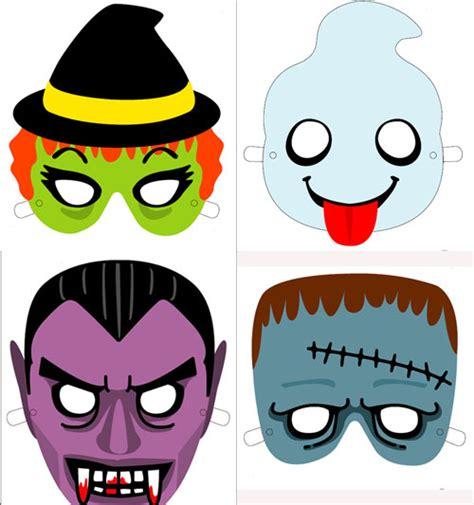 Imagenes Halloween Mascaras | mascaras de halloween para imprimir manualidades faciles