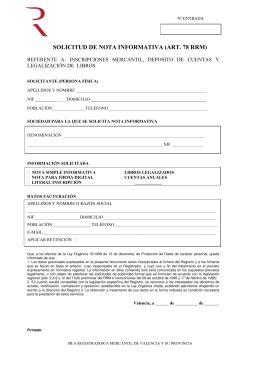 registro bienes muebles de barcelona solicitud de certificaci 243 n registro mercantil de barcelona