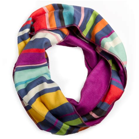 Cool Scarf A by Cool Stripes Infinity Scarf Scrappy Products