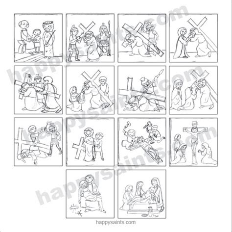 printable coloring pages for stations of the cross stations of the cross coloring pages for kindergarten