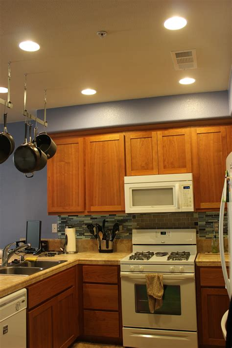 Kitchen Can Lighting Inside The Frame Light It Up